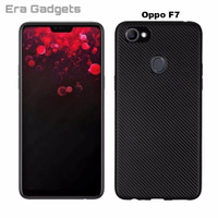 Case Oppo F5 F7 A83 Carbon Slim Silicone Softcase Casing - A83