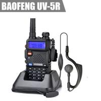 SP Baofeng Walkie Talkie Radio HT Komunikasi UV5R/UV-5R + FREE Earset