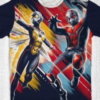 Kaos Superhero Marvel - Antman and Wasp Jump
