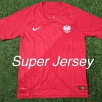 Termurah Jersey Polandia Away Grade Ori Kaos Bola World Cup Piala