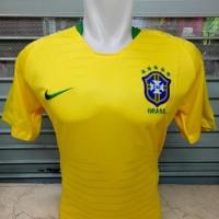 Termurah Jersey Baju Kaos Brazil Home World Cup Piala Dunia 2018 Grade