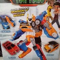 Termurah Mainan Anak Robot Tobot Mini Titan Xyz (3 In 1)