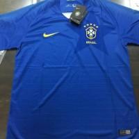 Termurah Jersey Brazil Away 2018 Baju Kaos Sepak Bola World Cup Piala