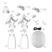 Termurah Berkualitas Breast Pump Real Bubbee - Double Pump