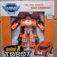 Termurah Murah Mainan Anak Robot Tobot Orange
