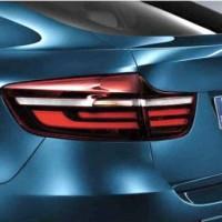 Ori BMW E71 X6 Blackline Tail Lights Lampu Rem Belakang smoked