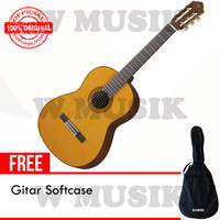 Yamaha Gitar Akustik C80 / C-80 / C 80 - Natural + Softcase