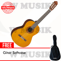Yamaha Gitar Akustik CX40 / CX-40 / CX 40 - Natural + Softcase