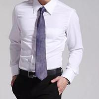 Kemeja Putih Polos Pria/size M,L,XL/Murah