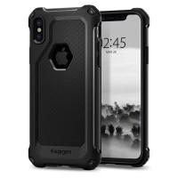 Spigen Case Iphone X / Spigen Rugged Armor Extra - Hitam