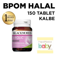Blackmores I Folic Pregnancy 150 Tablet Ibu Hamil Black Mores Folate
