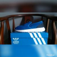 SALE Sepatu ADIDAS NEO LITE RACER SLIP ON BLUE Original Guarantee