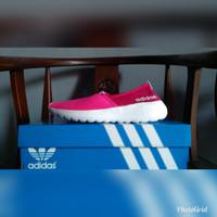 Sepatu Wanita ADIDAS NEO LITE RACER SLIP ON PINK Original Guarantee