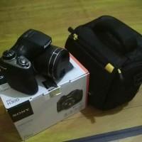 Sony DSC-H300 + Tas Kamera + Baterai