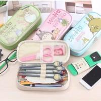 Totoro Multi Pencil Case / Tempat Pensil Alat Tulis Jumbo Totoro