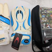 HO Soccer Goalkeeper gloves(sarung tangan kiper), ada FINGERSAVE