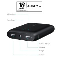 Aukey PB-N42 Pocket 10000mAh Power Bank