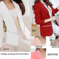 COLLAR ZIPPER BLAZER