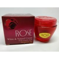Cream Rose White & Natural Krim Kulit Tampak Putih Tahan Lama