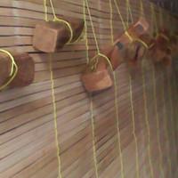 Tirai bambu 2x2 m / kirai bambu 2x2 m