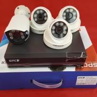Paket CCTV 4 Camera SPC 2 MP
