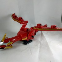 Part Power Ranger Megaforce Gosei Dragon Great Mechazord Bandai