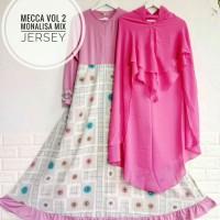 Gamis Syari Mecca Vol 2 monalisa mix jersey