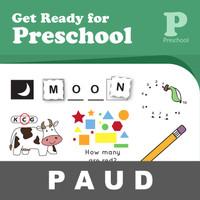 Get Ready Preschool Buku Aktivitas Anak PAUD Mewarnai Gambar Menulis
