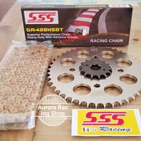 GirSet | Gear Set SSS [428] :CBR 150R | K45 + Rantai Hsbt 130L