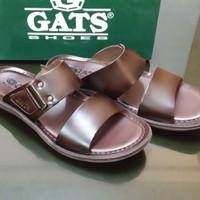 Sandal Gats HG-285 brown // Sandal Kulit Original Murah