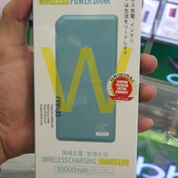 Power Bank Remax Chicon Qi Wireless Charger With Dual Port PPP-3