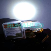 LED Headlamp Kawachi LY 105 Lampu Senter Kepala Mini Rechargeable