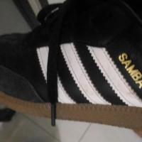 Sepatu Adidas Samba OG Leather Hitam Ori Original