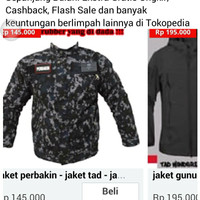 Jacket perbankin