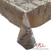 Tren-D-home - Table Cloth/Taplak Meja Makan Plastik PVC Meteran-LV-08