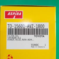 Saringan oli atau oli filter avanza xenoa rush agya merk aspira
