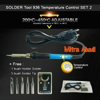 Solder Tool 936/Solder 60 Watt Temperature Control SET 2 ADJUSTABLE