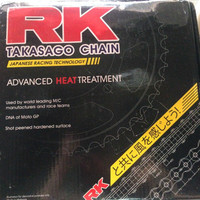 Gear Set+Rantai RK TAKASAGO Honda ALL NEW CB150R