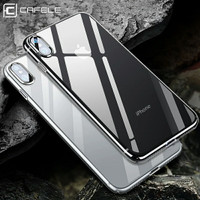 CAFELE CRYSTAL SILICONE TRANSPARAN CASE FOR IPHONE 7/8 7 PLUS/8 PLUS X