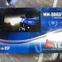 HEAD UNIT DOUBLE DIN MTECH 8803SP-MTECH 8803 SP ANDROID 7 INCH
