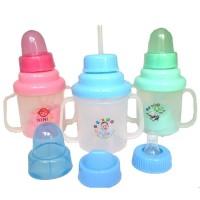Botol Susu Bayi 3 in 1 Ninio BPA FREE / Training Cup Ninio 3 in 1
