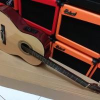 Gitar akustik murah belajar yamaha custom Akustik elektrik pemula