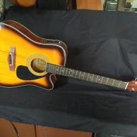 Gitar akustik elektrik yamaha gitar murah akustik elektrik custom