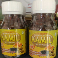 Kamil habbatussauda 3 in 1 besar isi 210