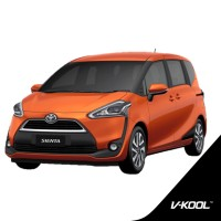 Kaca Film V-KOOL Full Body Toyota Sienta (VK40+VIP+VIP)