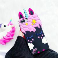 Casing iphone Silicone Phone Case iPhone 5 5S SE 6 6S 7 7plus 8 8plus