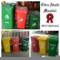 Promo Ramadhan tempat tong sampah besar roda sulo 120L