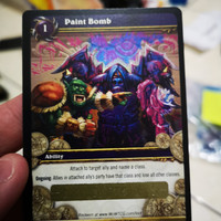 World of warcraft loot card unscratched paint bomb