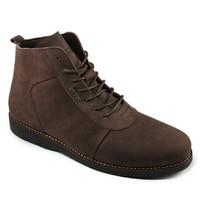 Sepatu Pria Sauqi Brodo Sepatu Boots kerja kulit Asli
