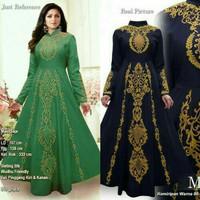 Baju pesta lebaran gaun maxi dress india gamis jodha abaya bordir